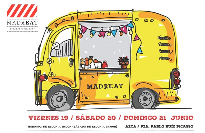 MadrEat – vuelven los foodtrucks
