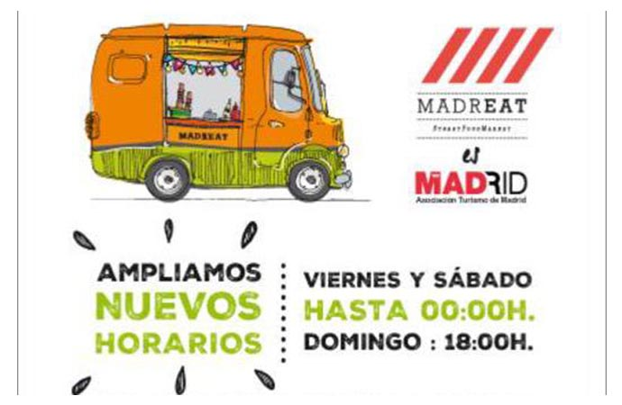 MadrEat -foodtrucks al ataque