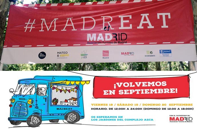 MadrEAT -vuelta al cole en foodtruck