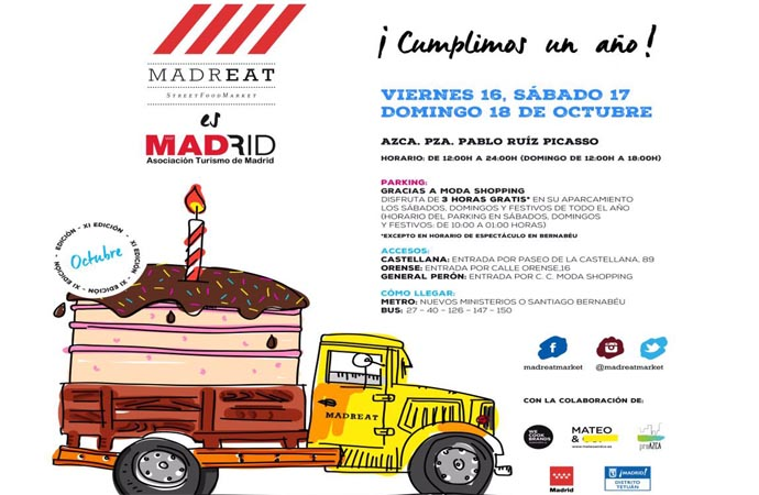 MadrEAT -1er Aniversario