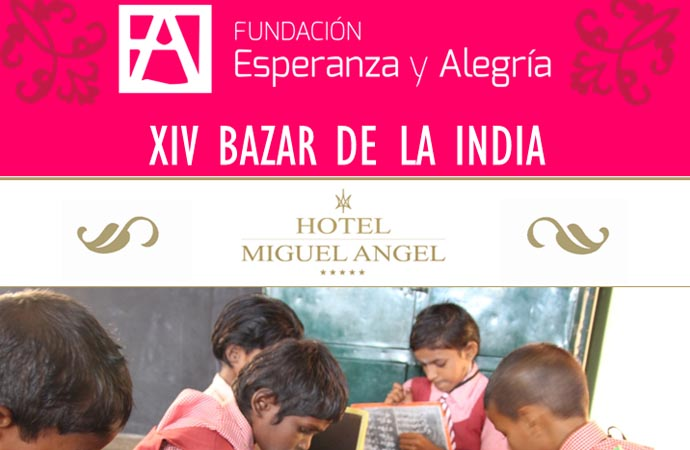 Bazar solidario de la India