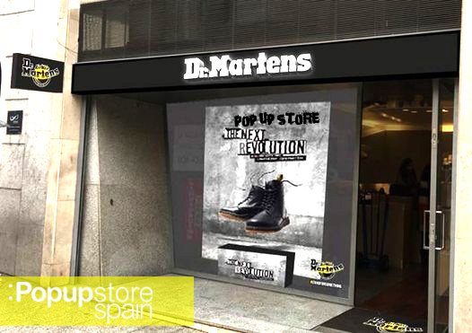 pop up store spain dr martens