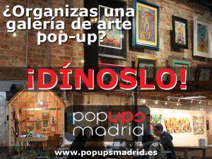 Galerias de arte pop-up en madrid