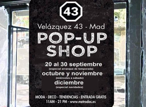 Pop Up Shop -reinauguración