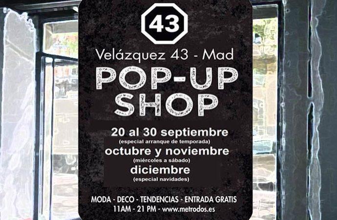 Pop Up Shop -reinauguración