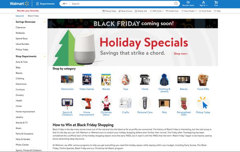 diseño de ofertas por temporadas en tiendas online