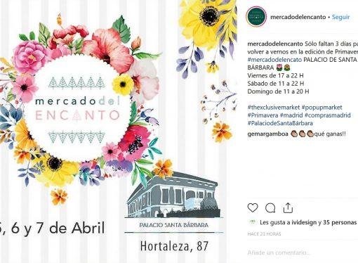 Mercado del Encanto – Primavera en el Palacio