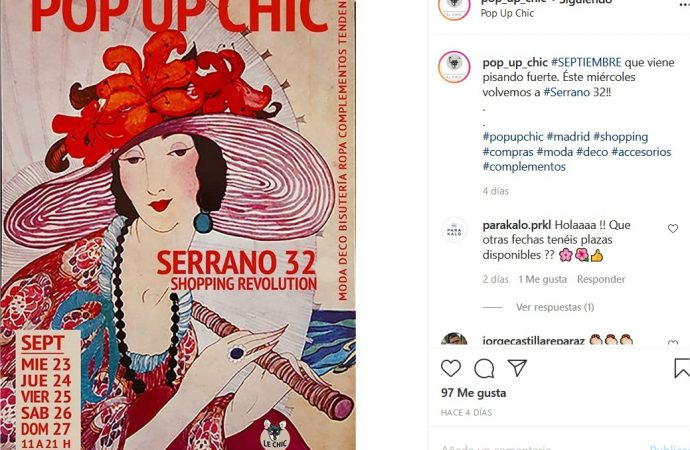 Pop Up Chic – Serrano 32