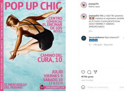 Pop Up Chic – El Encinar de los Reyes
